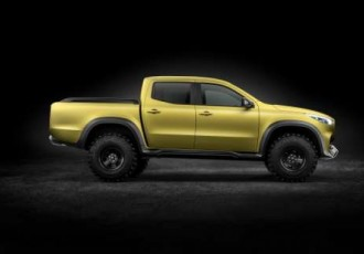 Mercedes-Benz Concept X-CLASS – First outlook on the new pickup bearing the three-pointed star