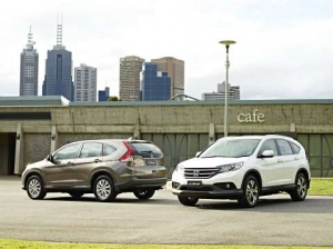 All-New Honda CR-V Makes Australian Debut At AIMS