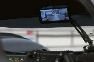 Audi Factory Drivers Look into the Future with a Digital Rear-View Mirror