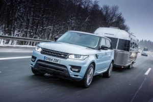 Range Rover Sport Hybrid tows an Airstream 2500 miles to the Arctic Circle