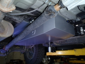 130 litre replacement tank for the new Holden Colorado RG Dual Cab
