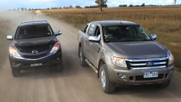4X4 Comparo: Ranger vs BT-50