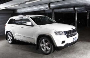 The all-new 2012 Jeep Grand Cherokee SRT8: The Ultimate Performance SUV