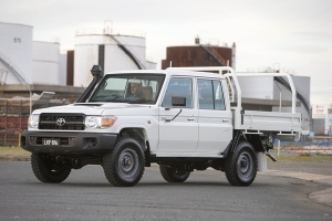 TOYOTA LAUNCHES LANDCRUISER WORKHORSE DOUBLE CAB