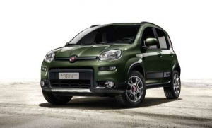 Fiat Panda 4x4 Debuts in World Preview at the Paris Motor Show