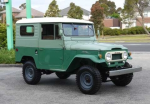 Very Early FJ40 LandCruiser in Shannons Melbourne Late Summer Sale