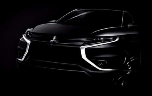 Mitsubishi Motors previews Outlander PHEV Concept-S