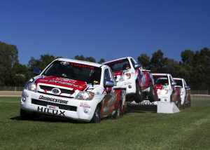 Toyota Hilux Stunt Team Now Truly Unbreakable