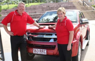 Isuzu Ute Partner with Morcombe Foundation