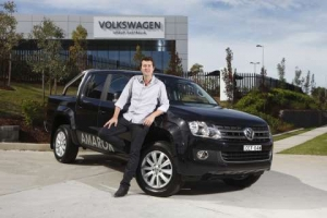 Volkswagen Commercial Vehicles is Amarok'ing and Rolling with New Brand Ambassador