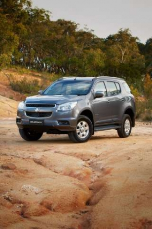 Holden Heads Off-Road with the New, Heavy Duty Colorado 7 SUV